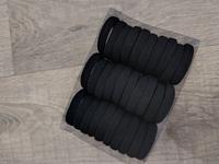 Набор резинок для волос (черные)