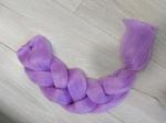 Канекалон светящийся в темноте фиолет