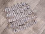 Афролоконы крючковые 50см (комплект - 5 пучков) №60