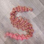 Афролоконы крючковые 80см #22p/pink